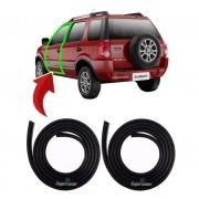 Par 2 Borracha Da Porta Ford Ecosport 2002 Até 2011 1ª Linha