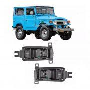 Par 2 Maçaneta Interna Porta Toyota Bandeirante 1985 A 2011