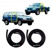 Par Borracha Porta Blazer S10 S-10 1995 Até 2000
