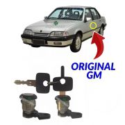 Par Cilindro Porta Chave Monza 1991 A 1996 Original