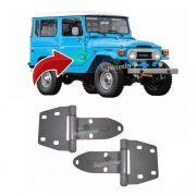 Par Dobradiça Porta Toyota Bandeirante Jeep 1980 Até 1994