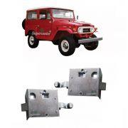 Par Fechadura Porta Dianteira Toyota Bandeirante 1958 A 1984