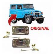 Par Fechadura Porta Dianteira Toyota Bandeirante 1985 A 2001