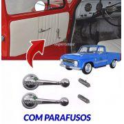 Par Manivela Vidro A10 C10 D10 Bonanza Veraneio 1964 A 1984