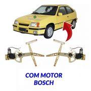 Par Máquina Do Vidro Elétrico Motor Bosch Kadett 2 Portas