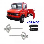 Par Máquina Manual Manivela Vidro Caminhão Benz 709 710 909