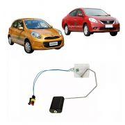 Sensor Nível Bóia Combustível Nissan Versa March Após 2011