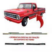 Suporte Vidro Porta Borracha F100 F1000 F4000 F11000 72 À 92