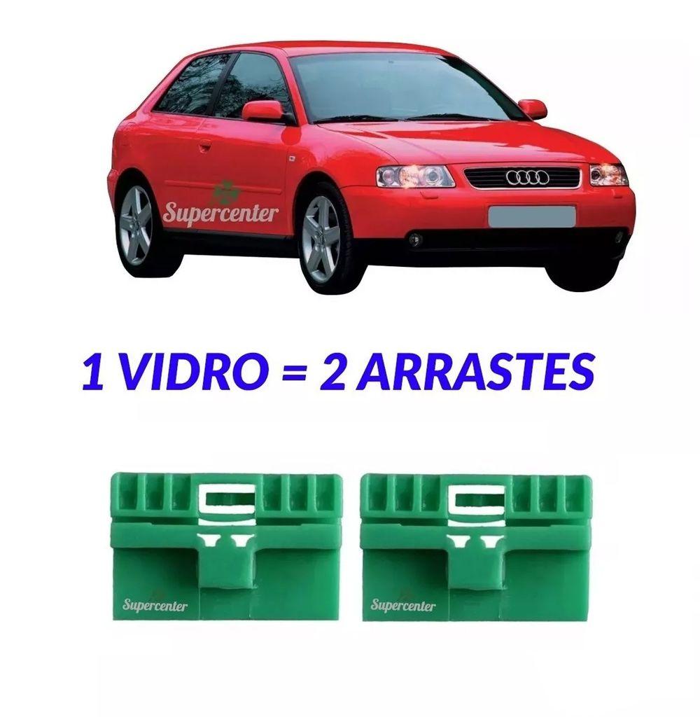 2 Arraste Da Máquina Do Vidro Elétrico Audi A3 2 Portas