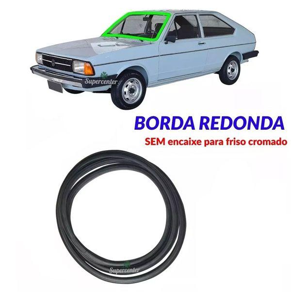 Borracha Do Parabrisa Sem Encaixe Friso Passat 1977 A 1988