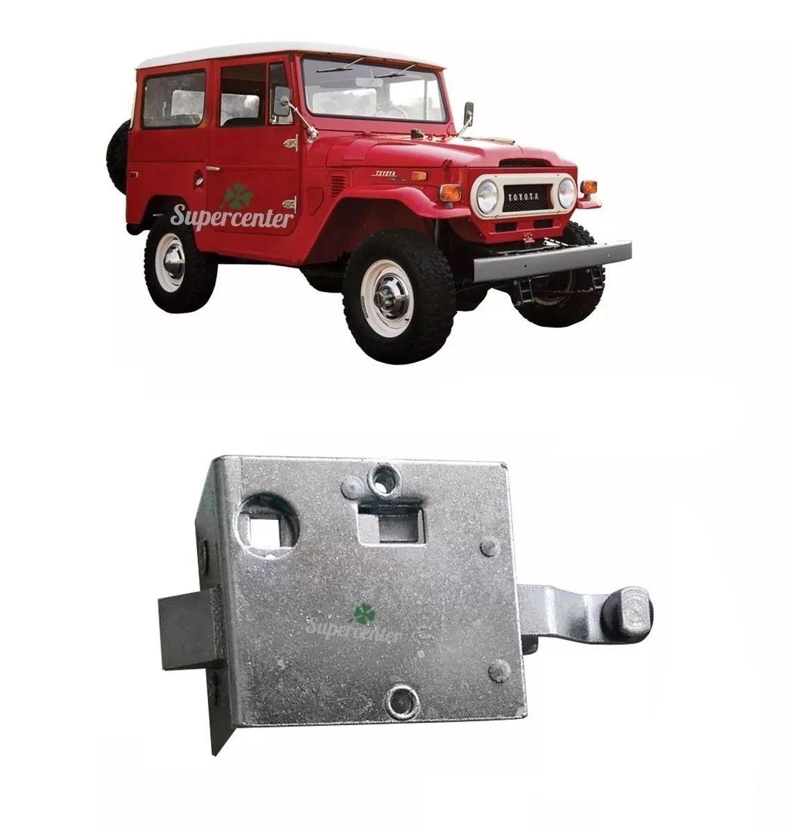 Fechadura Da Porta Dianteira Toyota Bandeirante 1958 A 1984