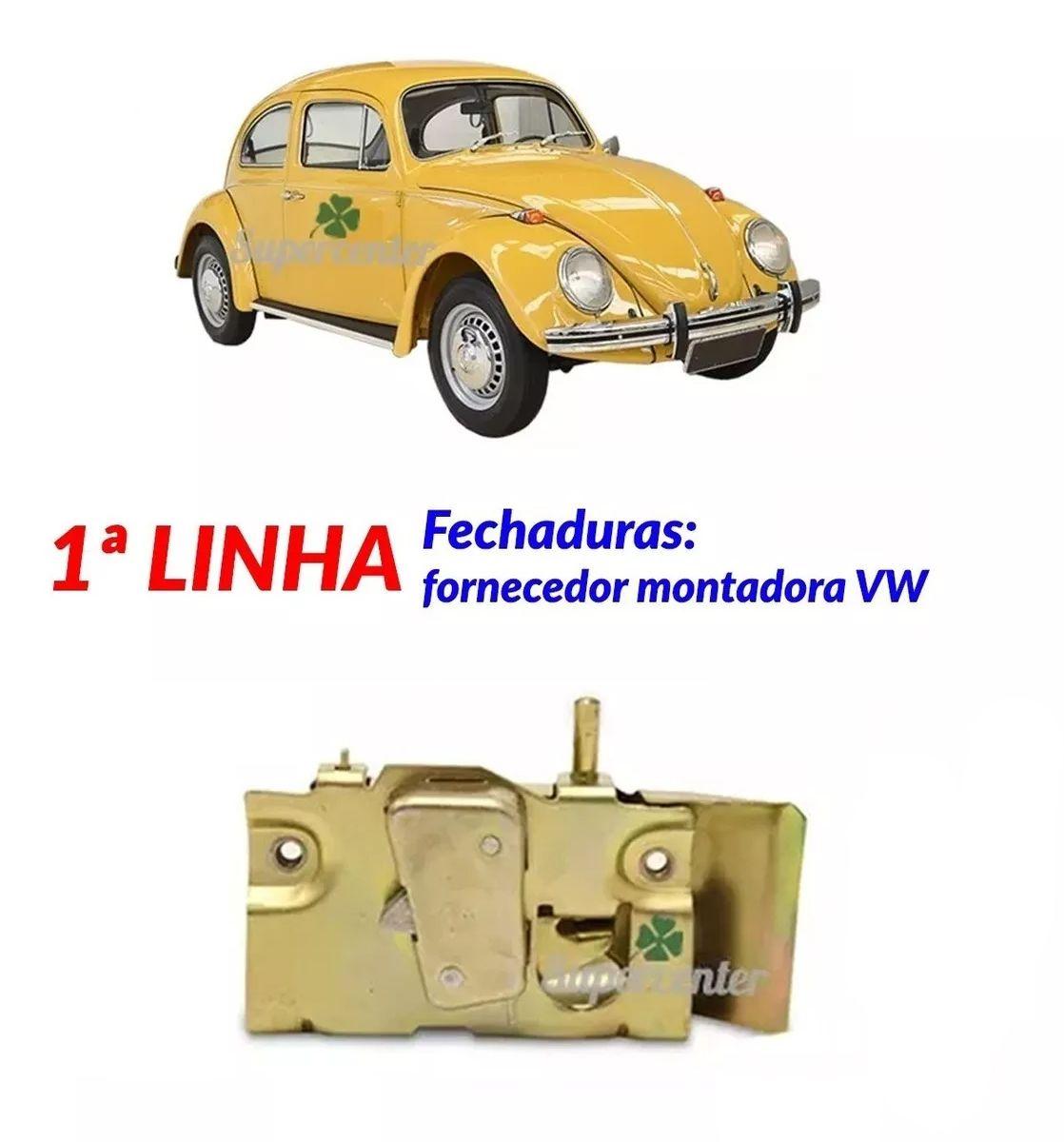 Fechadura Da Porta Fusca 1959 A 1977 Karmann Ghia
