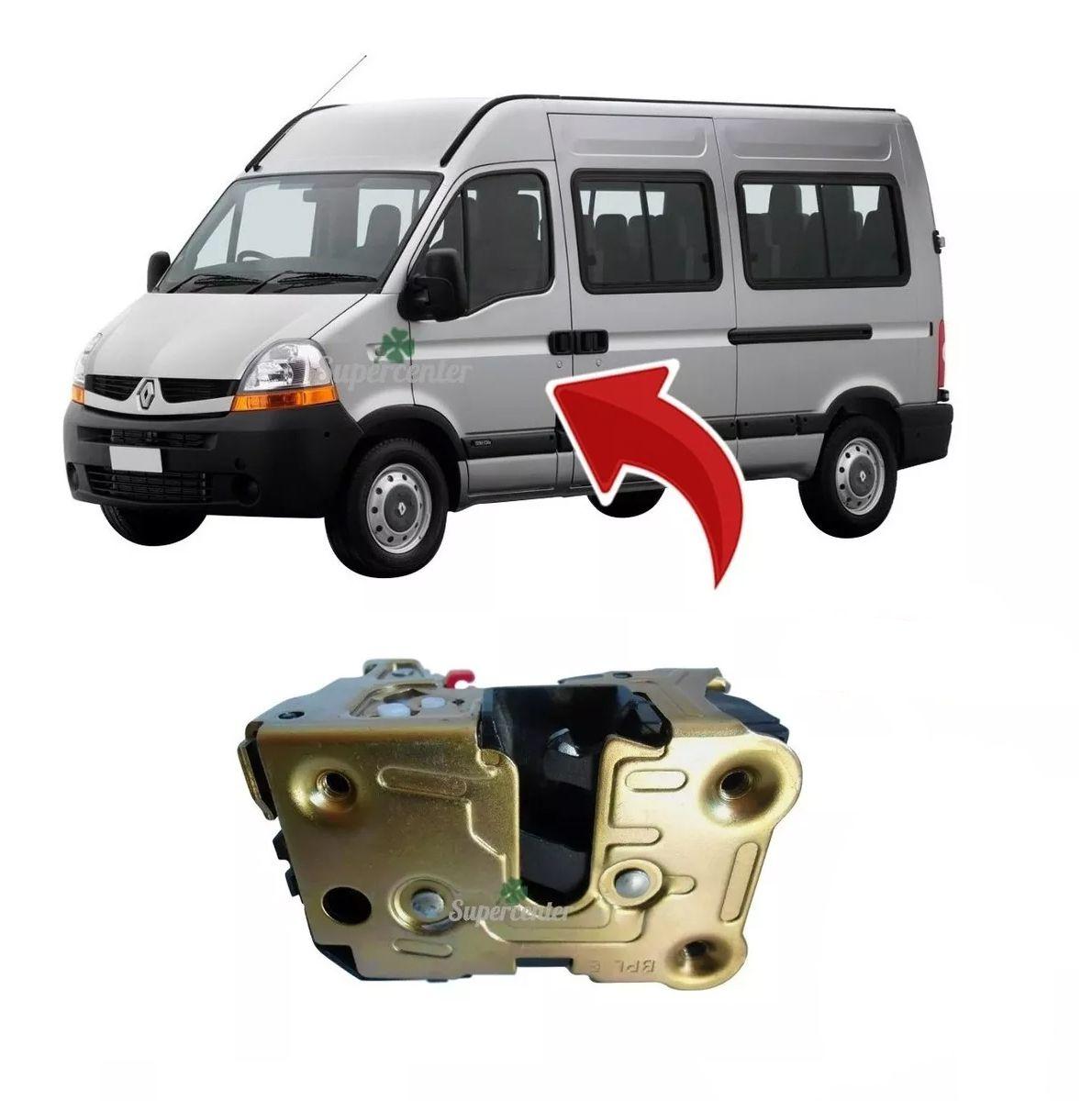 Fechadura Elétrica Porta Dianteira Renault Master 02 A 2013