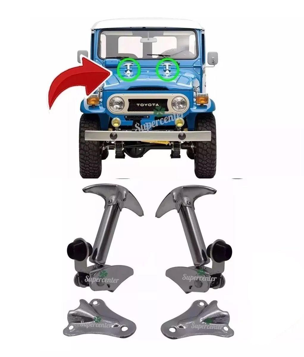 Fechadura Fecho Presilha Capô Toyota Bandeirante Jeep Willys