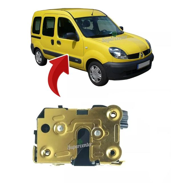 Fechadura Manual Porta Dianteira Dir / Esq Renault Kangoo