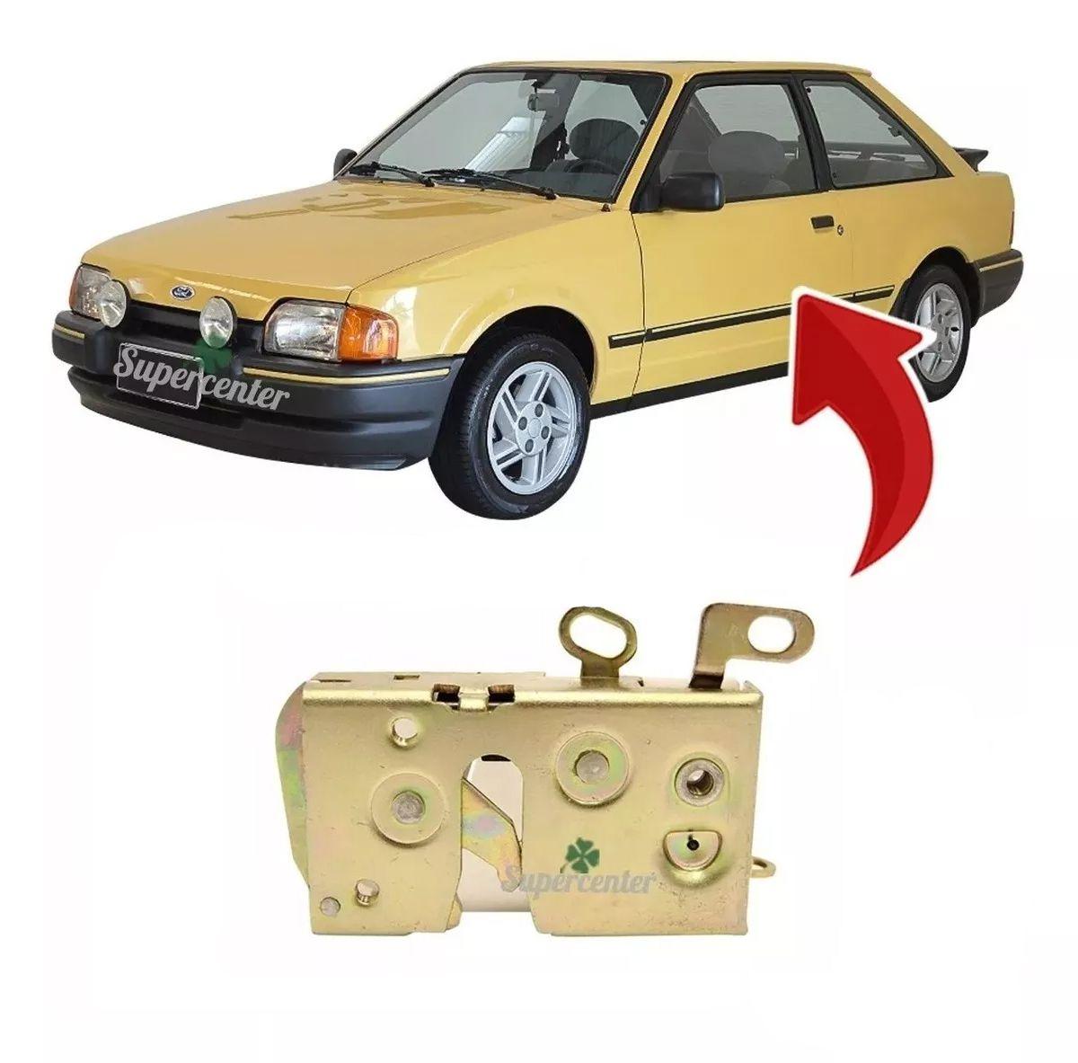 Fechadura Porta Dianteira Escort Verona 1987 Até 1992 Apollo