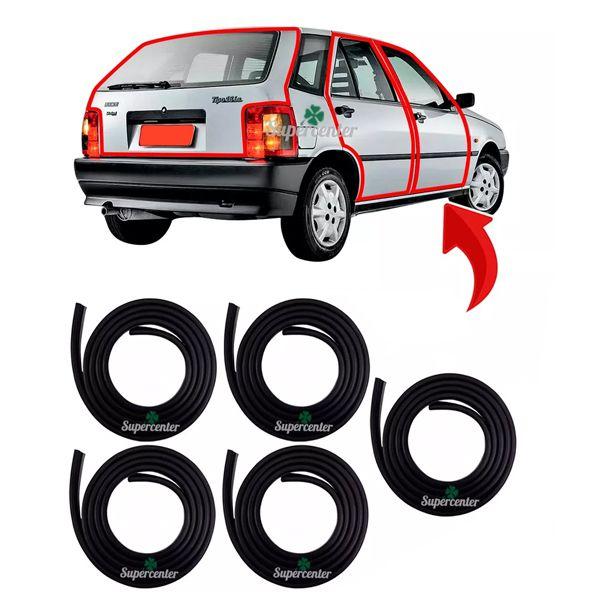 Kit Borracha Porta E Porta Mala Fiat Tipo 4 Portas