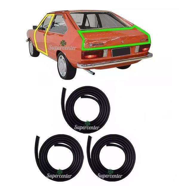 Kit Borracha Porta E Porta Mala Passat 2 Portas 1974 A 1988