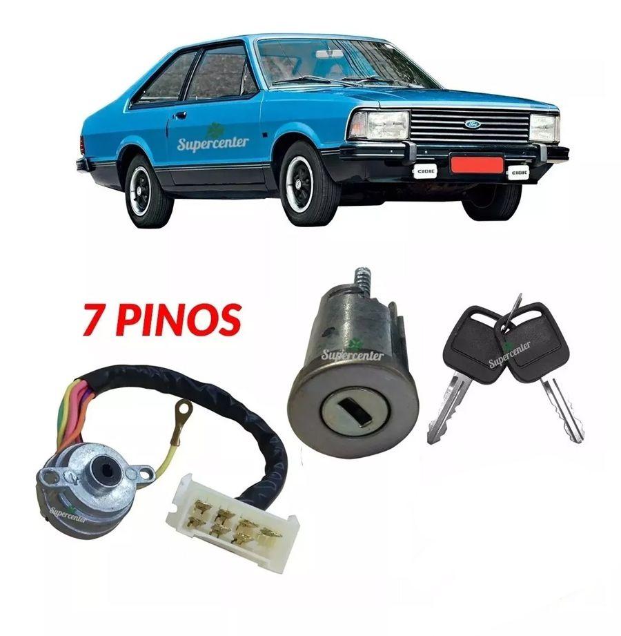 Kit Cilindro Comutador Ignição Corcel Belina 2 Del Rey 1978 A 1981