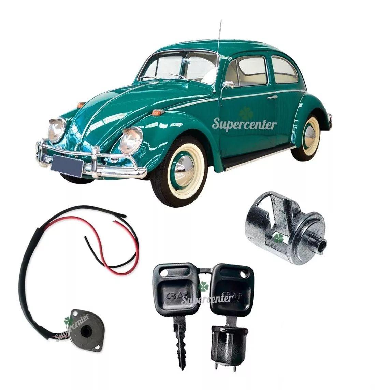 Kit Cilindro Ignição Chave Comutador Excêntrico Fusca 1959 A 1976