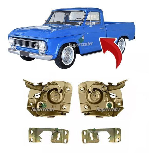Kit Fechadura Batente Porta A10 C10 D10 A14 C14 D14 Veraneio