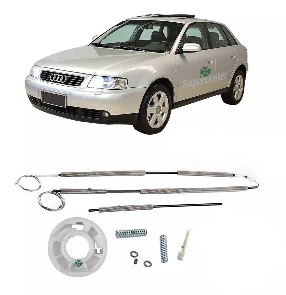 Kit Reparo Máquina Vidro Elétrico Dianteiro Audi A3 4 Portas