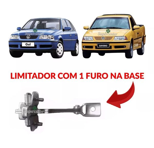 Limitador Porta Dianteira Gol Parati 4 Pts Saveiro G3 01/ 05