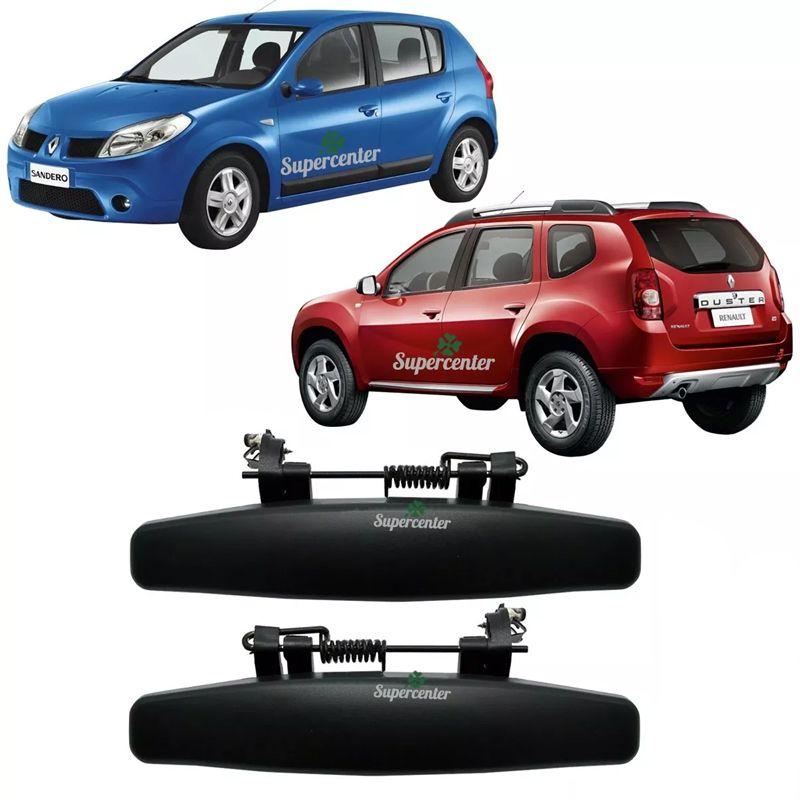 Par Maçaneta Porta Dianteira / Traseira Renault Sandero Duster Oroch