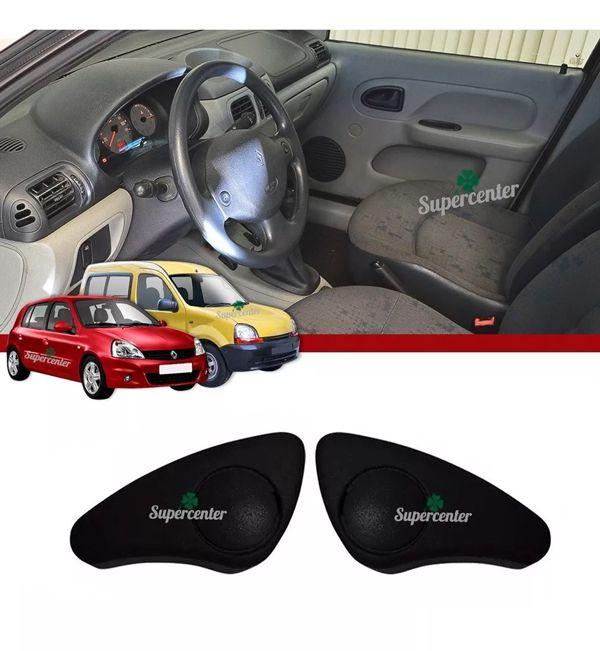 Par Manopla Inclinador Reguladora Banco Renault Kangoo Clio