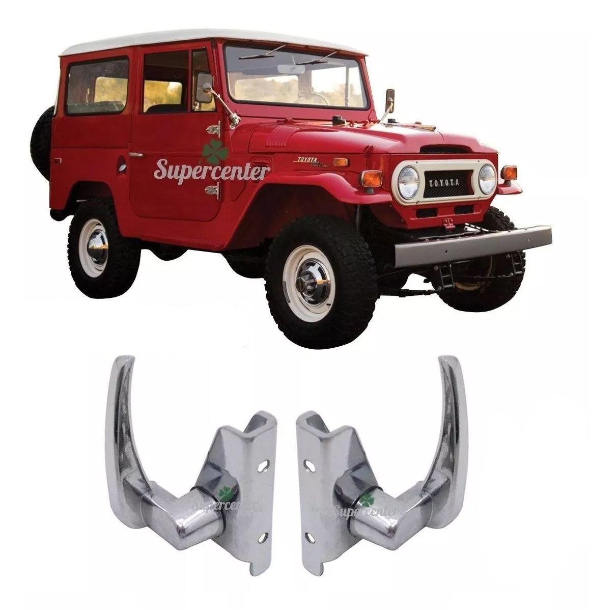 Par Trinco Do Quebra Vento Toyota Bandeirante 62 Até 84