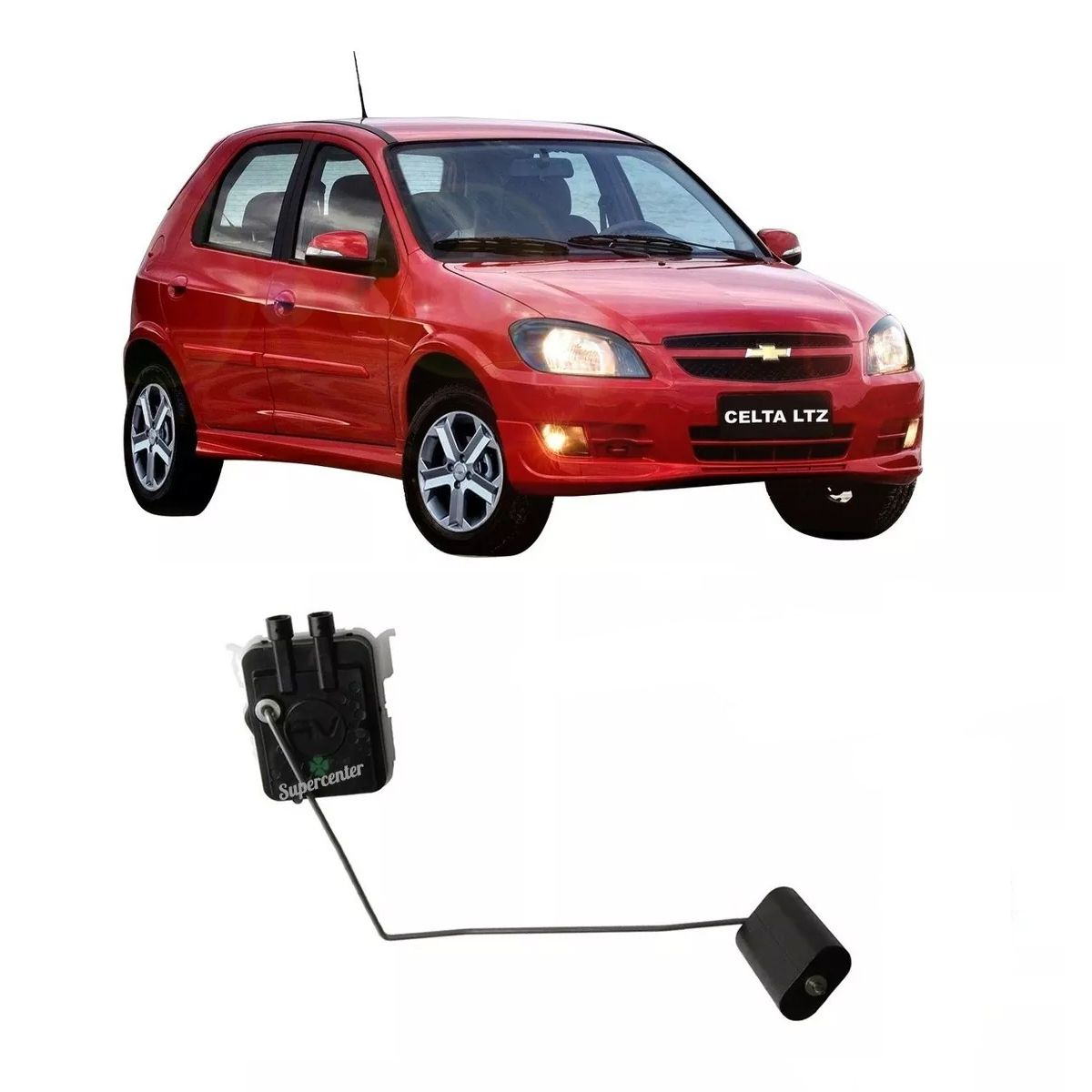 Sensor Nível Bóia Combustível Celta Após 2009 Prisma 2006 A 2009