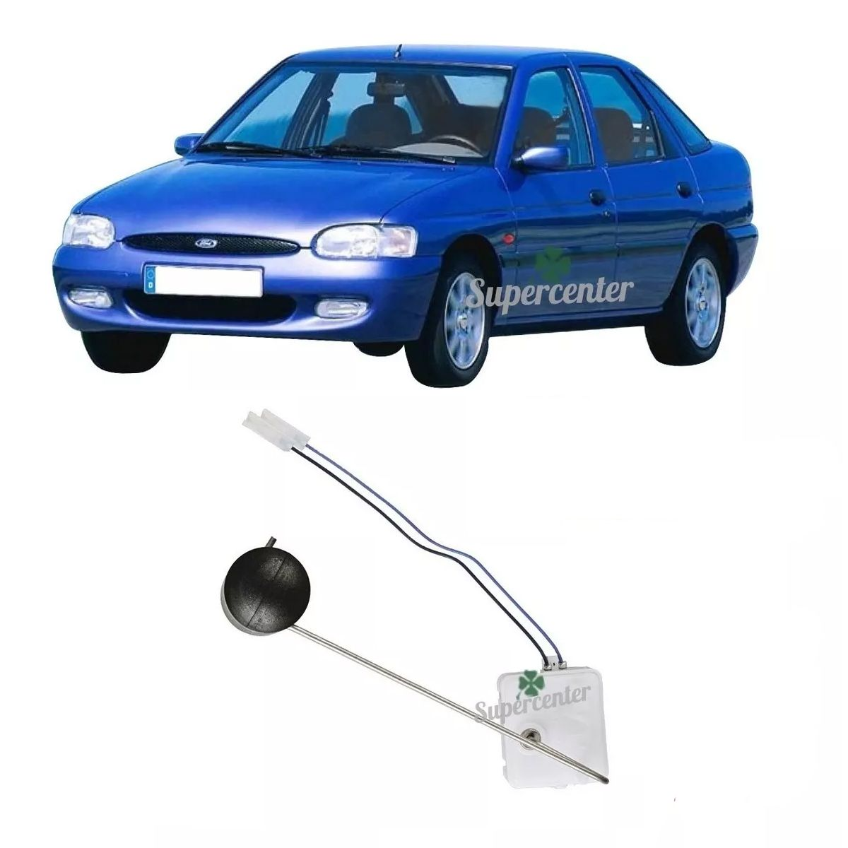 Sensor Nível Bóia Combustível Escort Zetec Rocan Sw Apos 1996