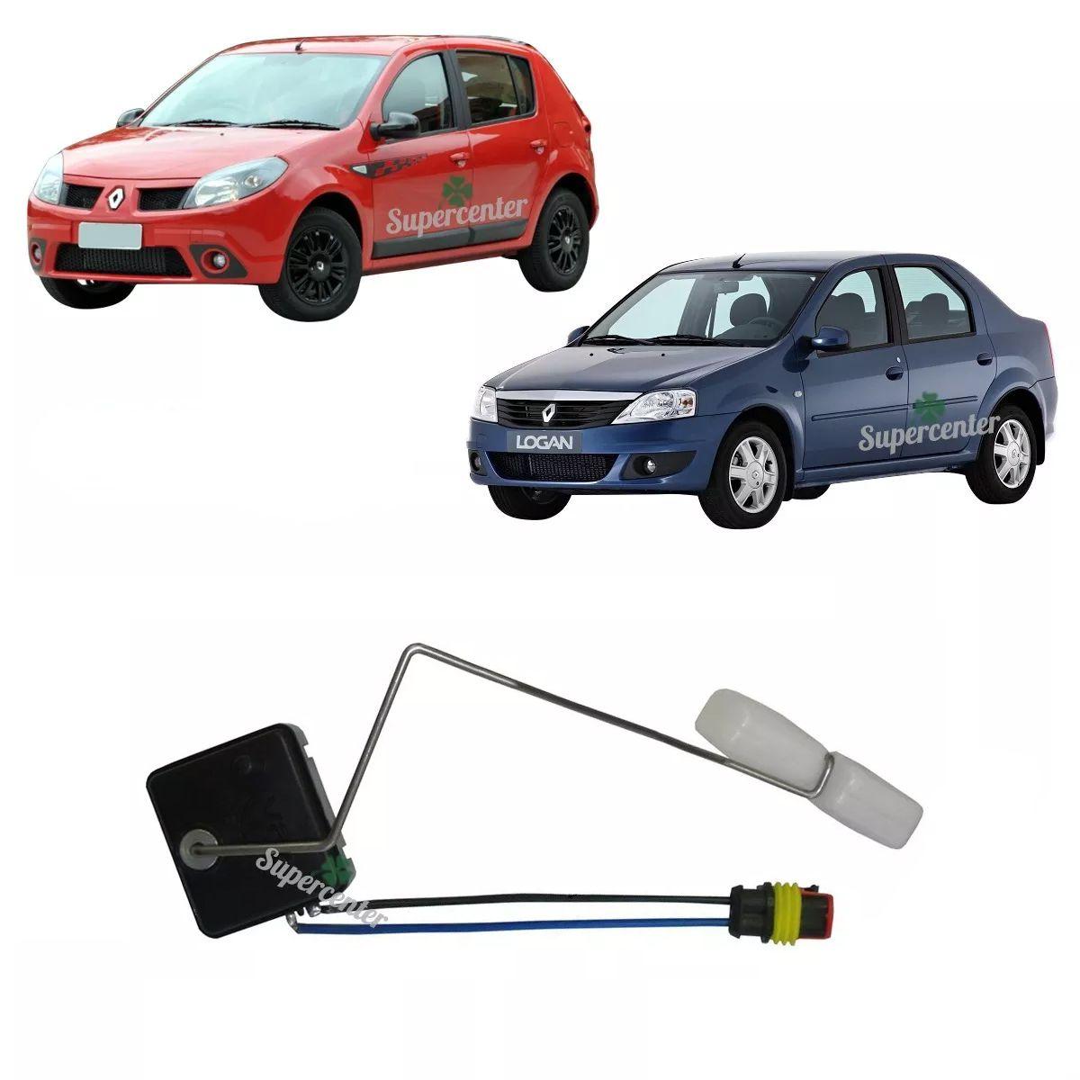 Sensor Nível Bóia Combustível Flex Sandero Logan Após 2007