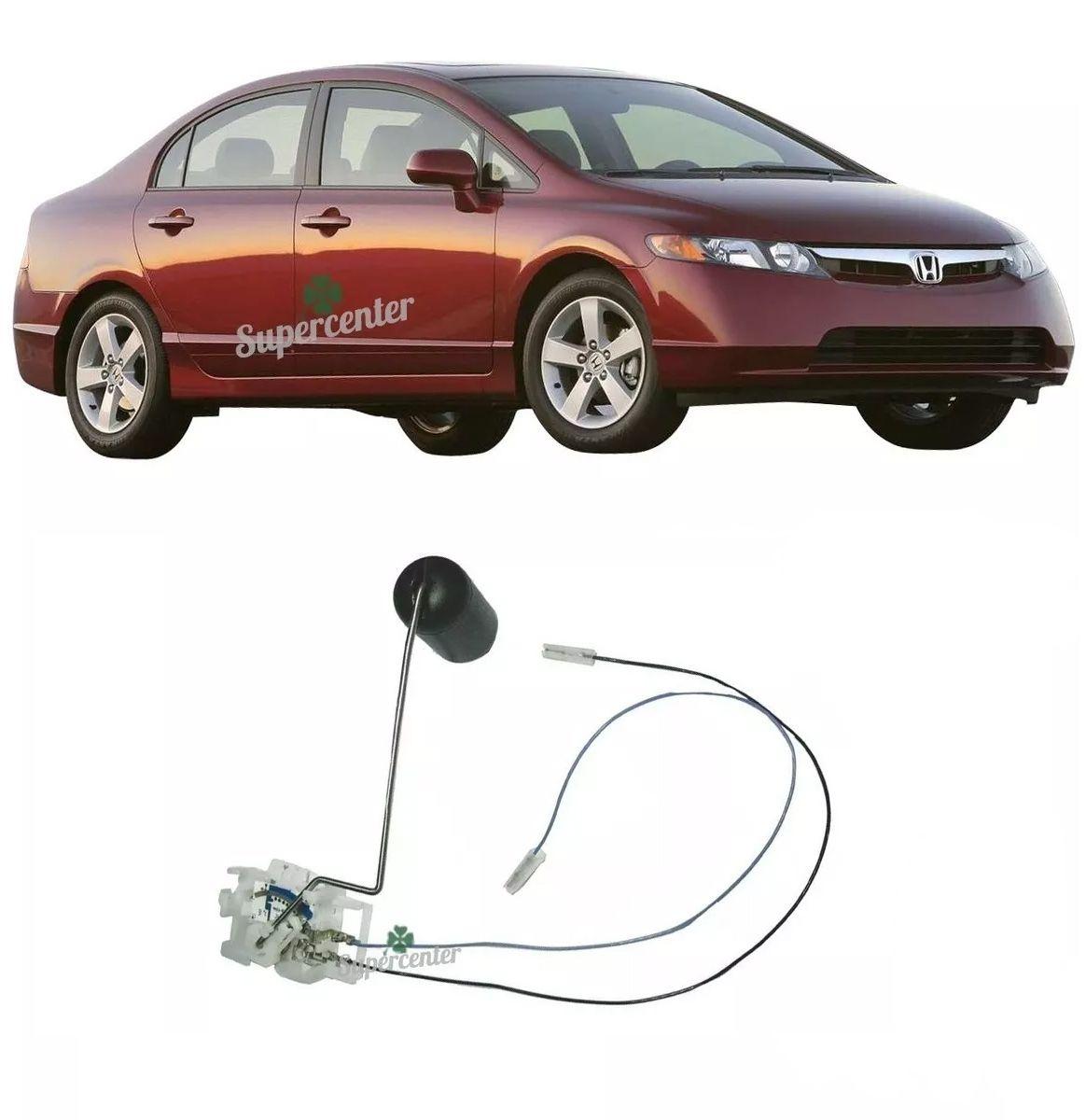Sensor Nível Combustivel Honda Civic 10/06 A 06/07 Gasolina