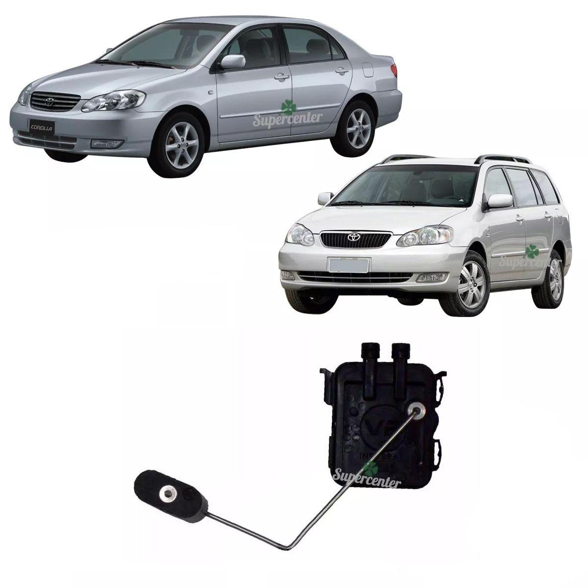 Sensor Nível Combustível Toyota Corolla E Fielder 2007 A 2008