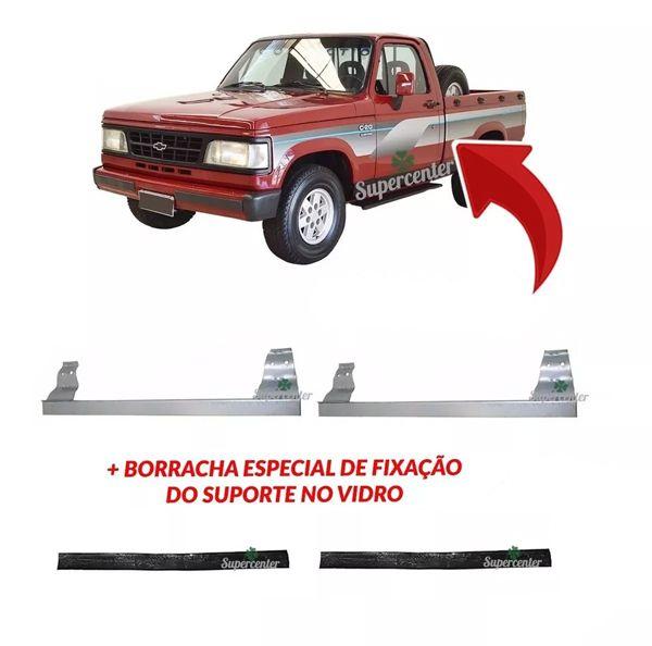 Suporte Borracha Vidro Porta A20 C20 D20 D40 Bonanza 85 A 89