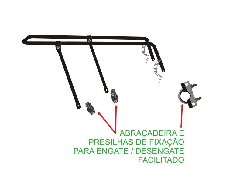 Bagageiro Universal Kalf Flex