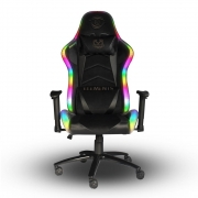 Cadeira Gamer Elements Lux Rgb Suede - Nemesis