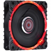 Cooler FAN PcYes 120MM CALAFRIO com LED Vermelho FCAL120LDVM