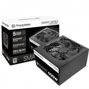 Fonte Gamer Thermaltake 600W 80 Plus White - PS-SPD-0600NPCW