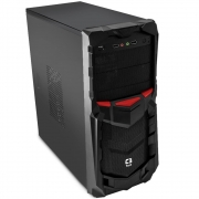 Gabinete C3Tech Gamer ATX sem Fonte Preto MT-G50BK