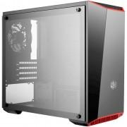 Gabinete Gamer Cooler Master Masterbox Lite 3.1 TG, Mini Tower, Com 1 Fan, Vidro Temperado, S-Fonte, MCW-L3S3-KGNN-00