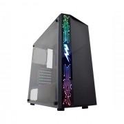 Gabinete Gamer K-Mex RAIDEN Painel RGB, Sem Fonte – CG-11A8