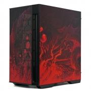 Gabinete Gamer Redragon Infernal Dragon Strafe Mid Tower, Lateral Vidro Temperado - GC-706IF