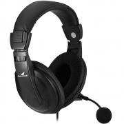 Headset Fortrek Multimídia Preto - HSL-102
