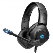 Headset Gamer HP DHE-8002, 2x3.5mm + USB, Black, DHE-8002