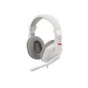 Headset Gamer Redragon Ares Lunar White C/Microfone - H120W