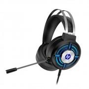Headset HP Gaming H120, 2x P2, USB, Iluminação LED, com adaptador P2 3.5mm