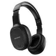 Headset Telefunken Bluetooth preto -  H500bt