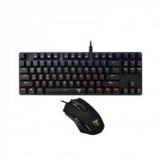 Kit Gamer Teclado E Mouse T-dagger Advance Force - T-tgs005